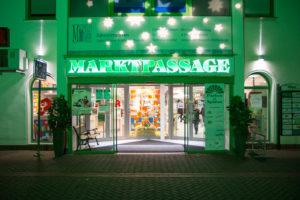 Eingang vom Marktplatz