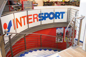 Intersport Kreft im Tiefgeschoss