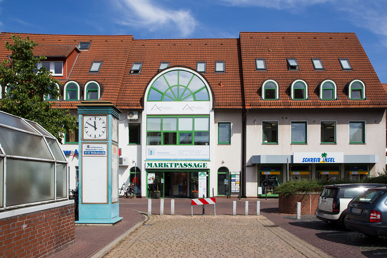Marktpassage Stadthagen - Eingang