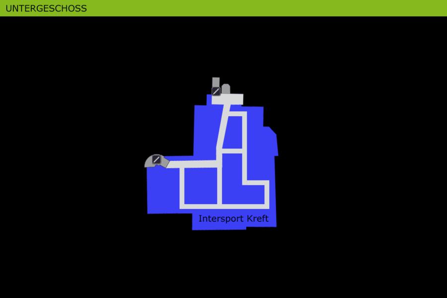 Lageplan Untergeschoss